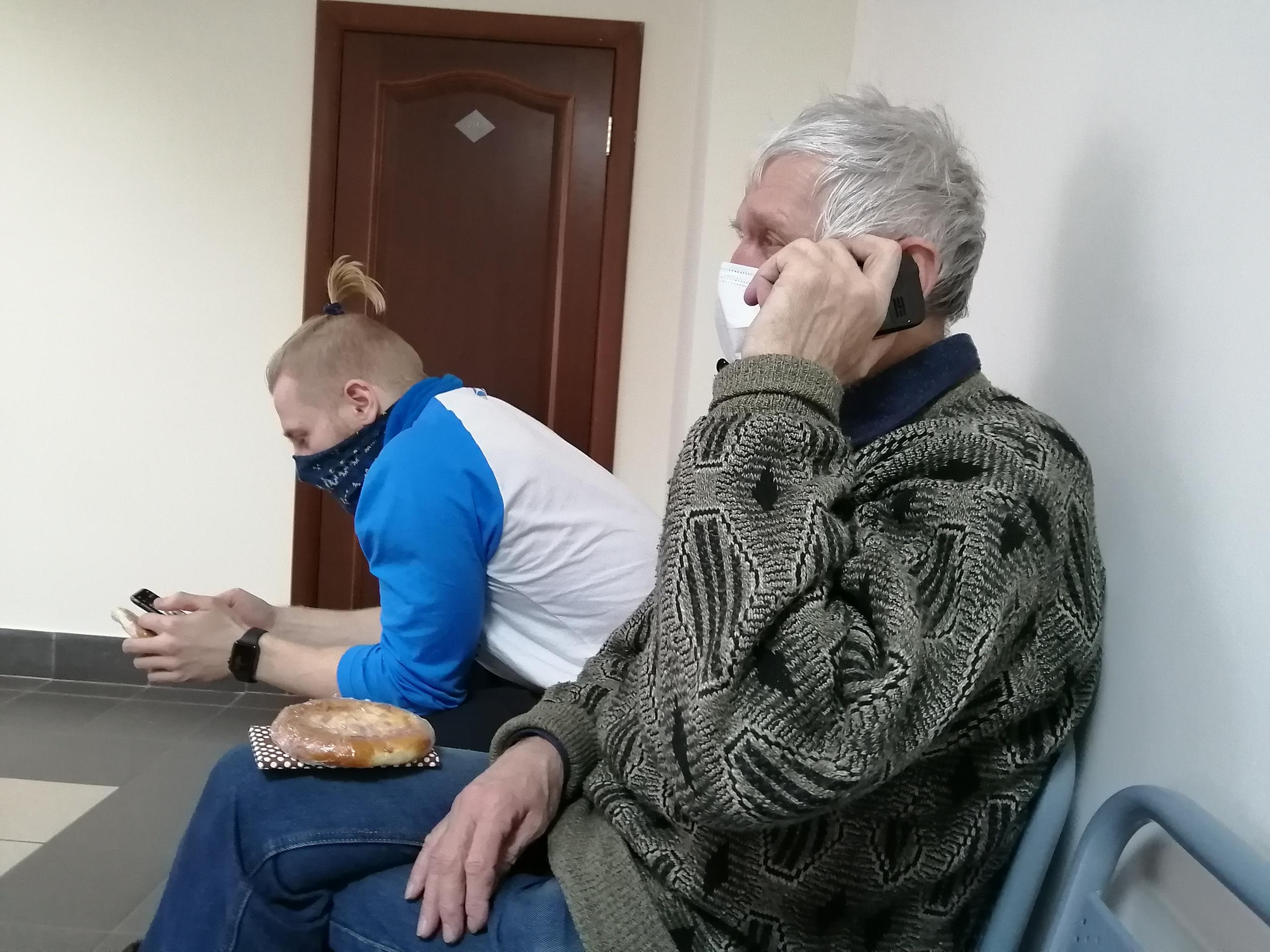 Анатолия Казиханова задержали накануне в Северодвинске, но протокол на него вернули в ОВД России по Северодвинску