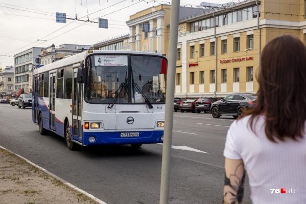 """Новая транспортная схема действует в Ярославле с <nobr class=""""_"""">14 июля</nobr>"""