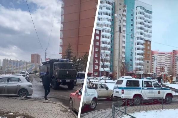 В Покровке эвакуировали жителей подъезда из-за подозрительного мобильного телефона
