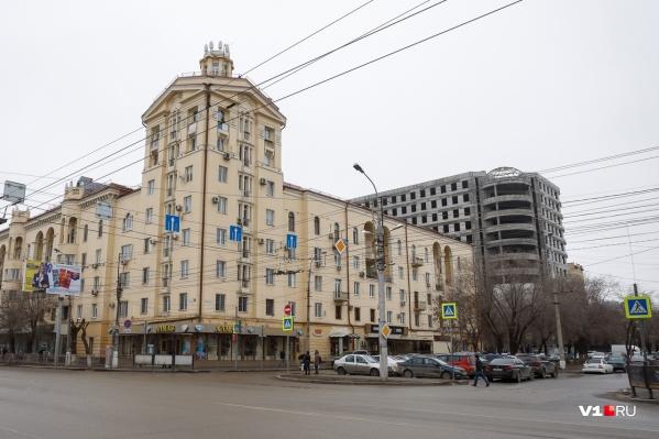 ДТП произошло днем в Ворошиловском районе Волгограда