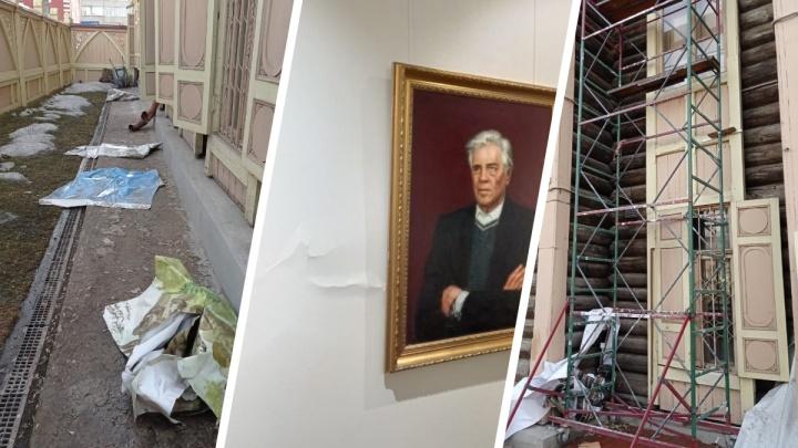 «Забор красили дети таджиков»: глава Литературного музея потеряла работу из-за претензий к ремонту здания-памятника