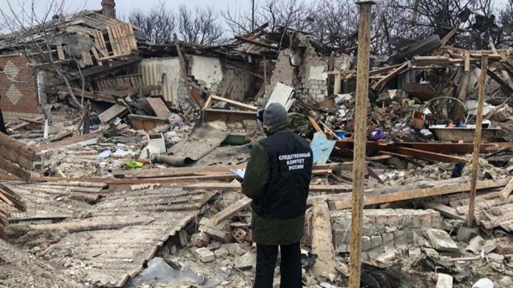 После взрыва дома под Красным Сулином возбудили уголовное дело