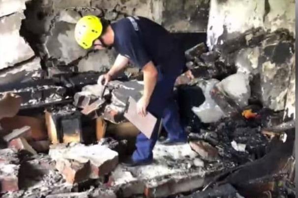 Обои обуглились, стены нет. Как выглядит краснодарская квартира после взрыва и гибели жильца