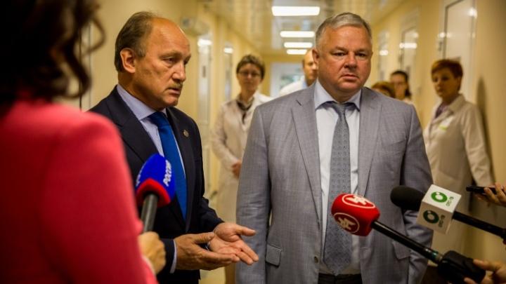 Олег Иванинский ушел с должности главного врача новосибирского онкодиспансера — его ждет Госдума