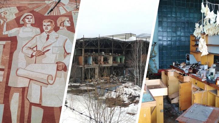 Что осталось от гигантского завода в Дивногорске — фоторепортаж и история заката от очевидцев