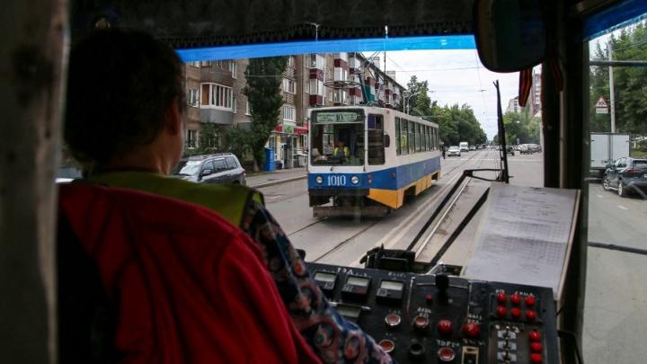 В Уфе трамваи перестали ходить по двум маршрутам