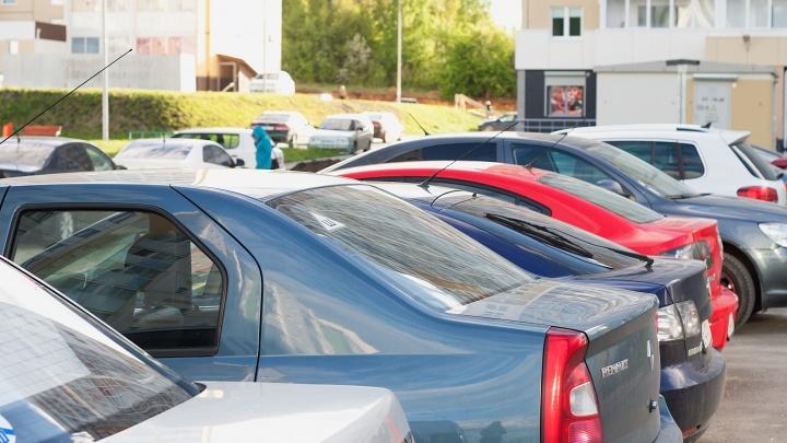 В нескольких районах Кургана ввели запрет на парковку