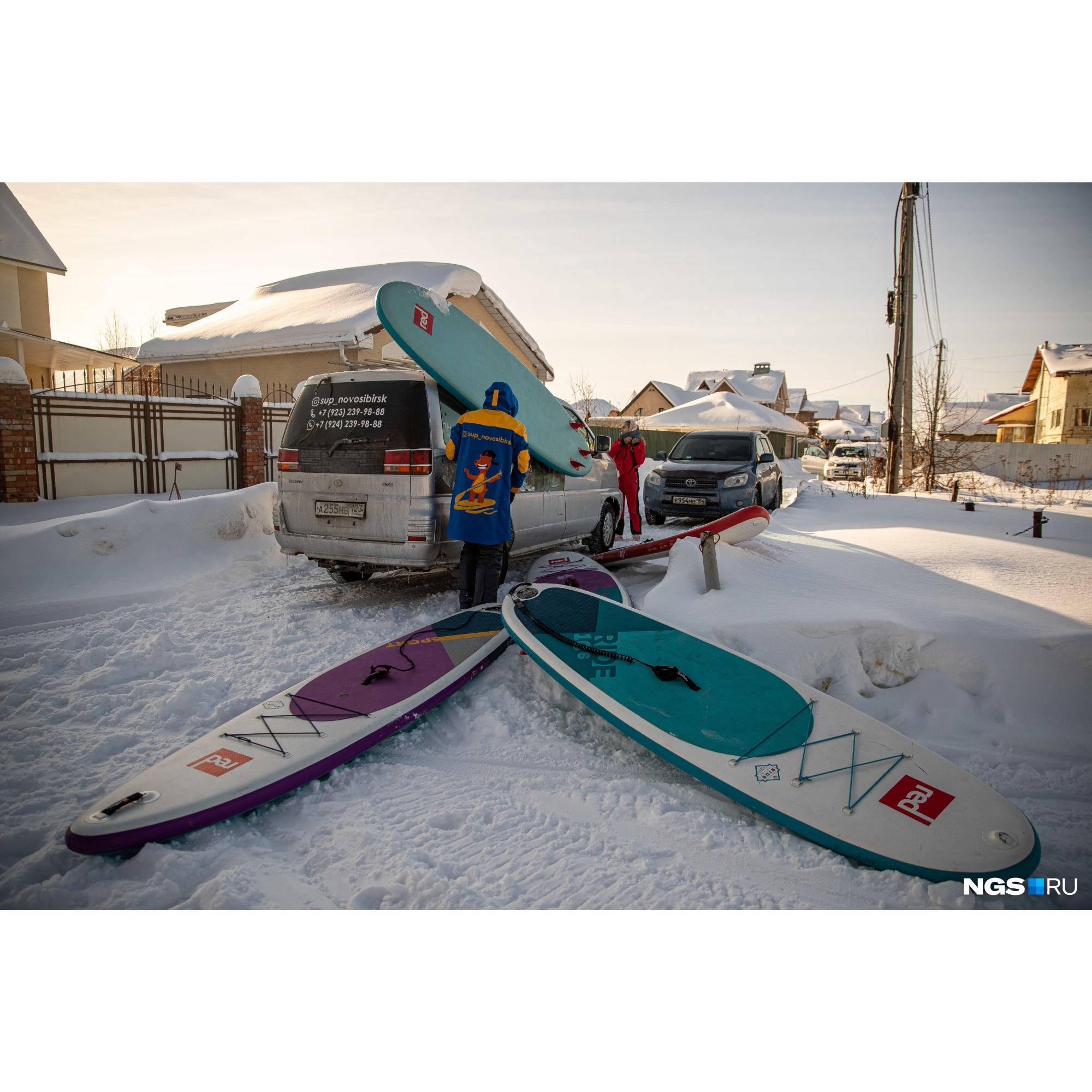 В сезонв Новосибирске есть 10 маршрутов, большая часть которых находится на Обском