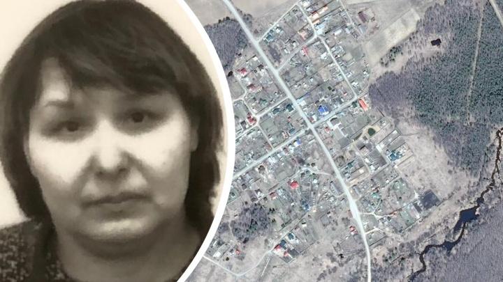 Под Екатеринбургом ищут пропавшую женщину, которая нуждается в помощи медиков