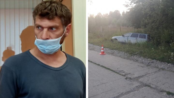 «Я не успел среагировать, меня ослепило солнце»: водитель, сбивший в Прикамье беременную двойней, рассказал об аварии