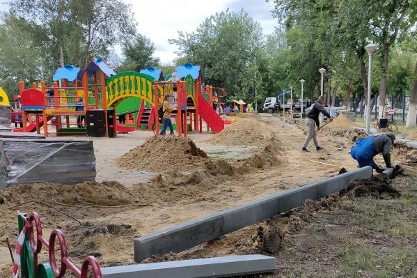 Власти попросили прощения у курганцев из-за ремонта в Детском парке