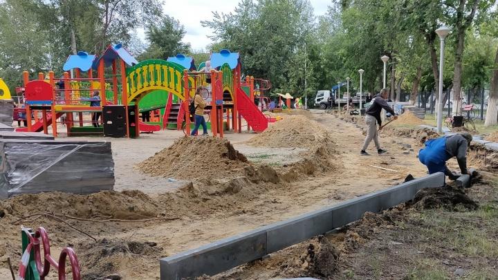 Детский парк Кургана отремонтируют и поставят в нем персонажей из сказок