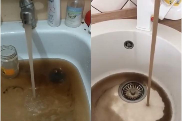А такая вода летом текла в Антипино, местным жителям в УК говорили, что это из-за подключения новых жилых комплексов