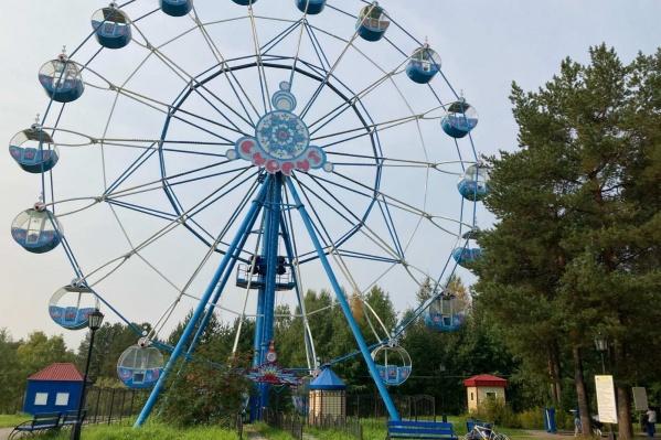 Городской парк аттракционов в Сургуте не работал два лета