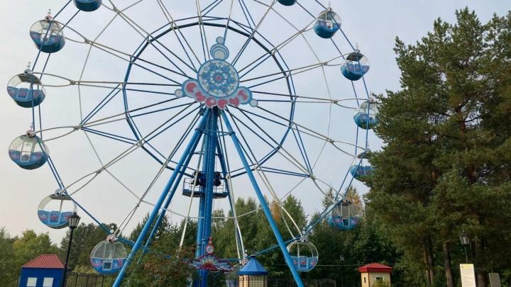 В Городском парке Сургута начали работать несколько аттракционов, остальные запустят со дня на день
