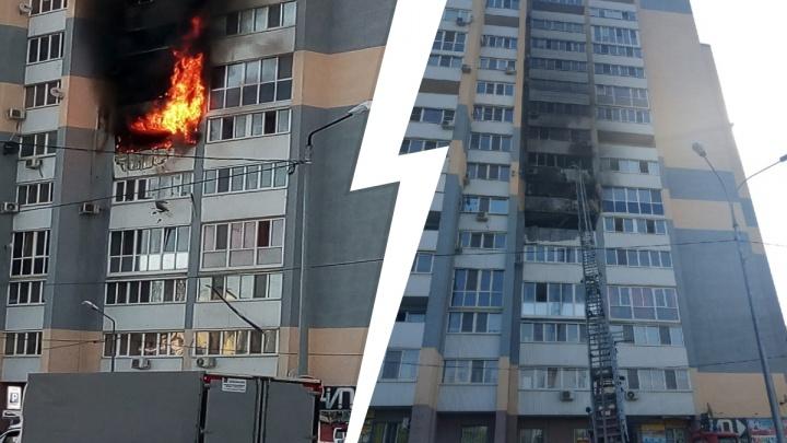 В Волгаре из-за пожара в сауне сгорела квартира