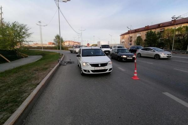 ДТП произошло на Пышминской