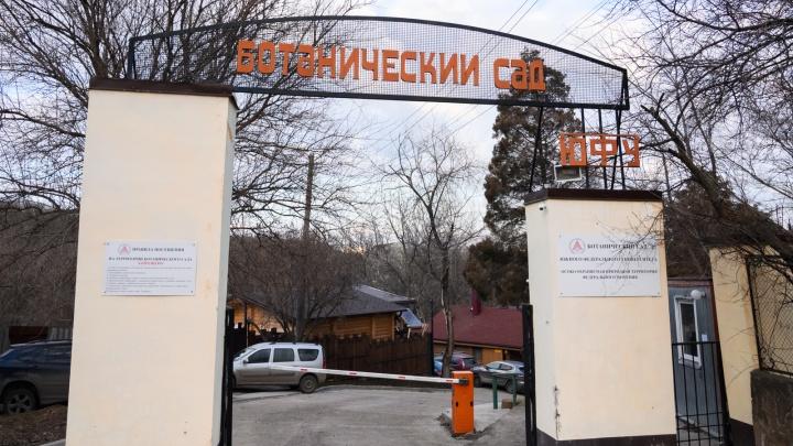 В Ростове стал платным вход в Ботанический сад