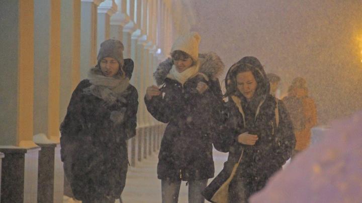 В Башкирии ожидается сильная метель имокрый снег