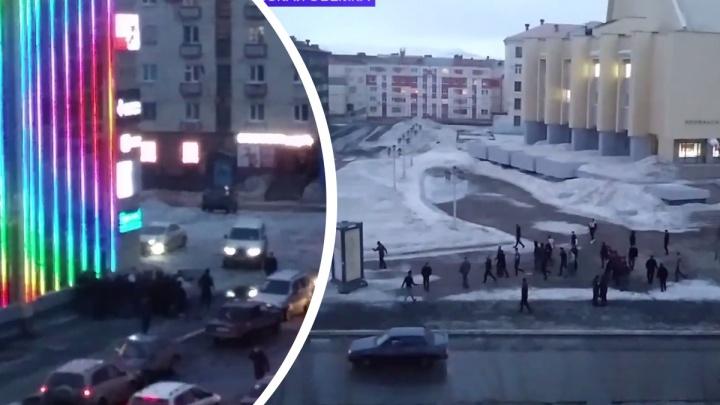Массовая драка в Норильске: 24человека забрали в полицию