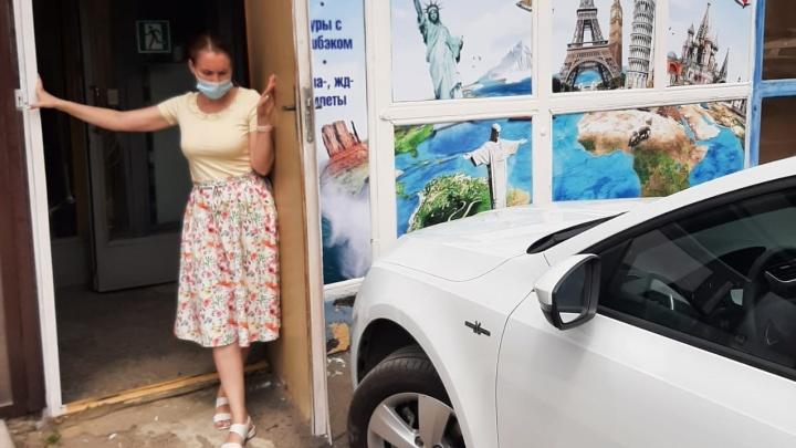 В Волгограде автохам парализовал работу турфирмы