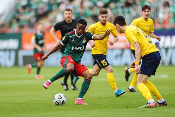 В прошлом сезоне «Локомотив» в Москве обыграл «Ростов» со счетом 4:1