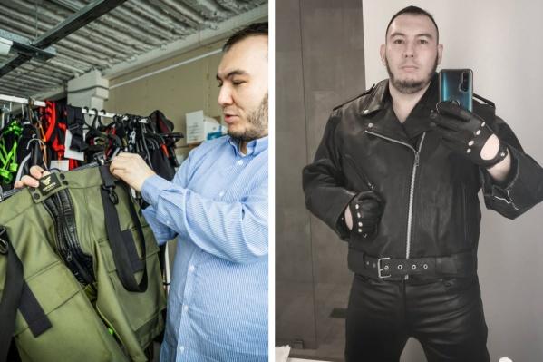 """Новосибирец Булат Барантаев одевает мужчин по всему миру c <nobr class=""""_"""">2014 года</nobr>"""