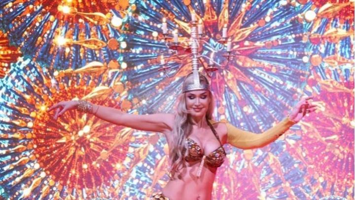 Красноярка выиграла конкурс «Самое красивое лицо России». Она станцевала с горящими свечами на голове