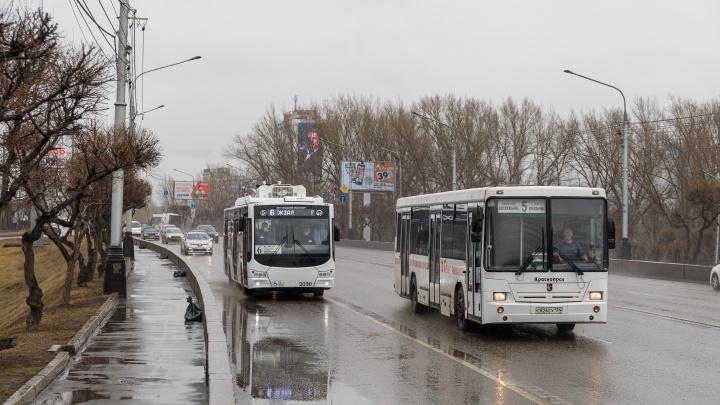 Красноярску закупают 20 новых троллейбусов почти за полмиллиарда рублей