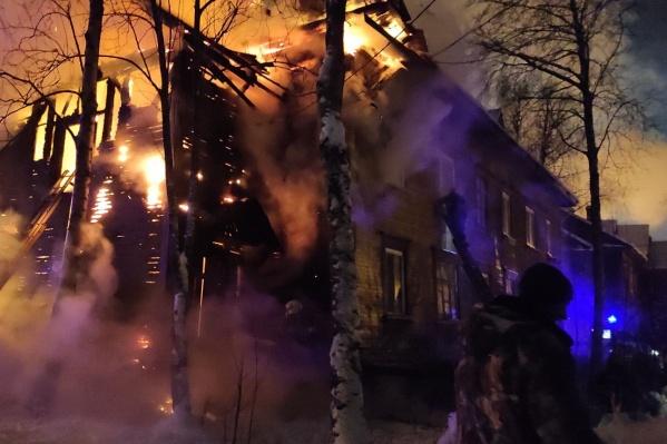 Эвакуировать из дома пришлось троих человек, 15 вышли на улицу сами