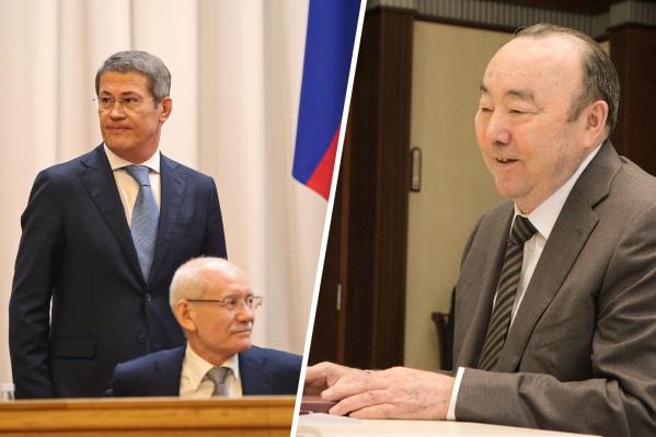Рустэм Хамитов руководил Башкирией четыре года как президент и еще четыре — как глава республики