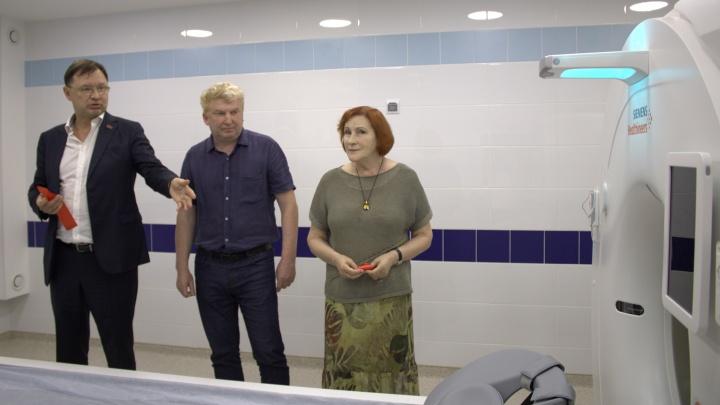 В «Центре современной кардиологии» в Шарыпово появился компьютерный томограф