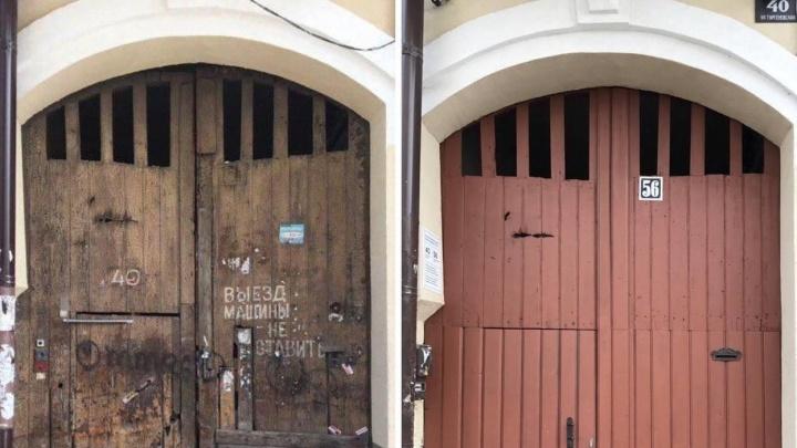 Старинные ворота в центре Ростова восстановили на деньги фонда Варламова. Как они преобразились?