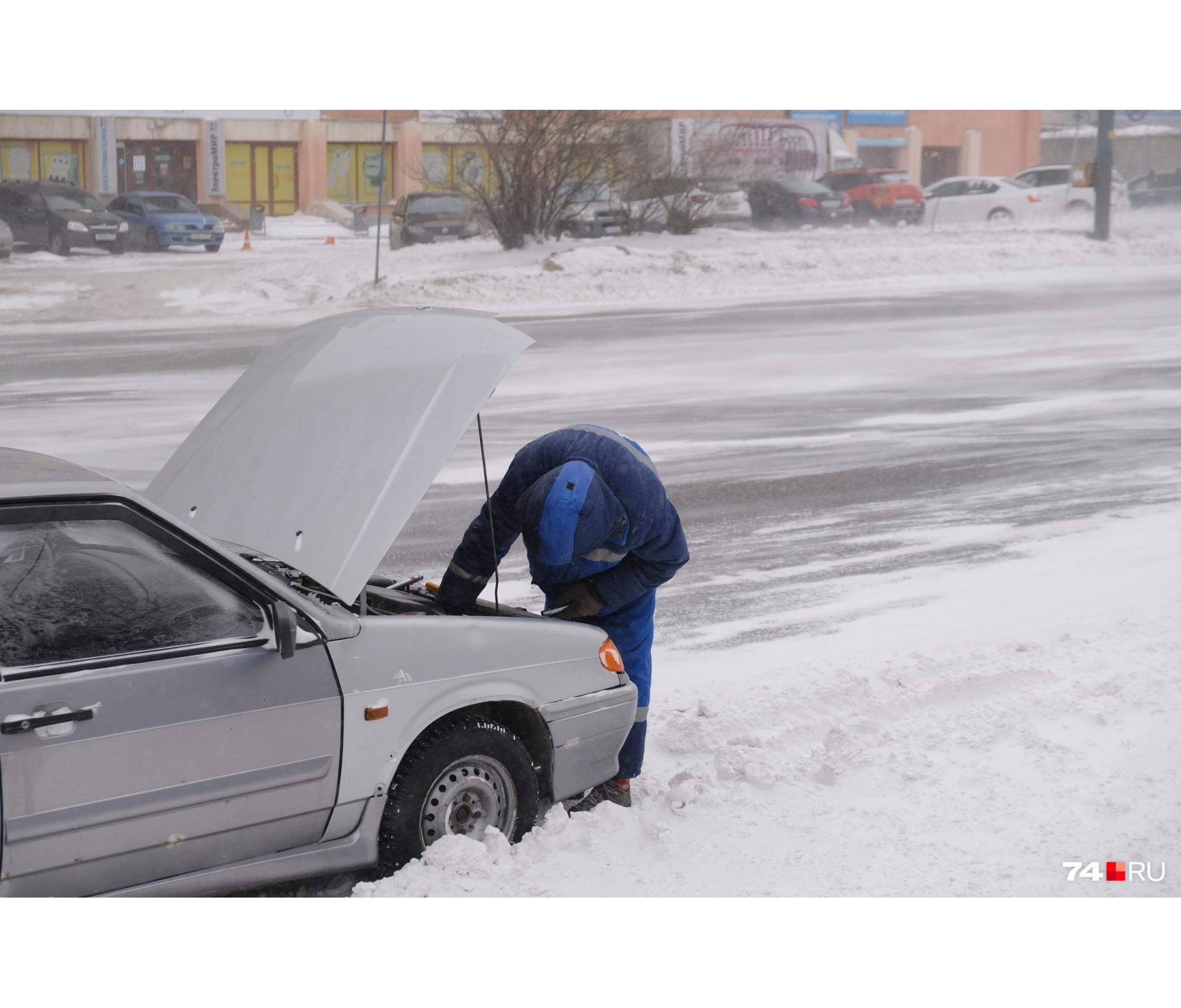 Завести машину в мороз — не самая простая задачка