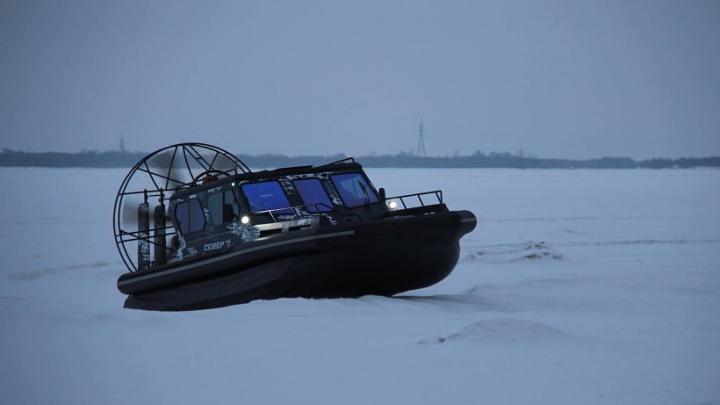 Два новых судна будут обеспечивать связь состровной частью Архангельска припаводке иледоставе