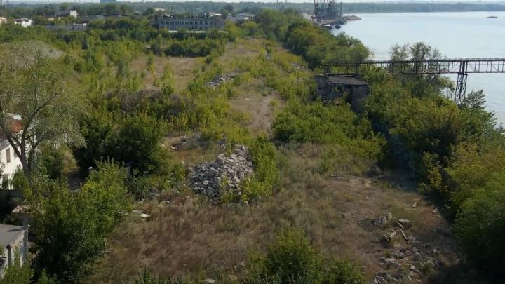 «Площадку зачистили»: показываем, где на стрелке Волги и Самары планируют построить высотки