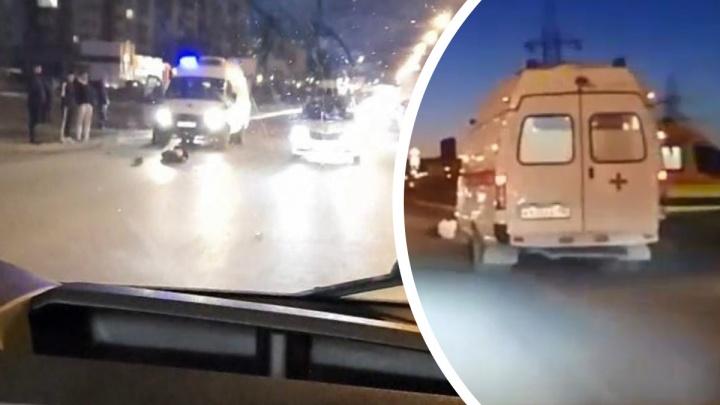 Пешеход, которого байкер сбил на Таватуйской, скончался