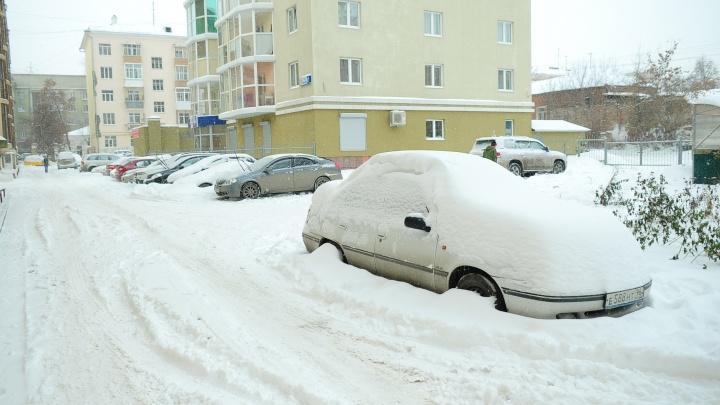 Свердловчан предупредили о сильных снегопадах
