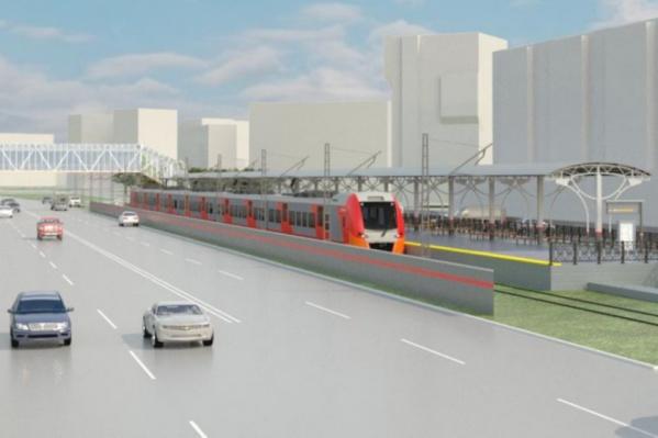 Проект наземного метро в Солнечном. Поезда планируют направить по улице Нескучной