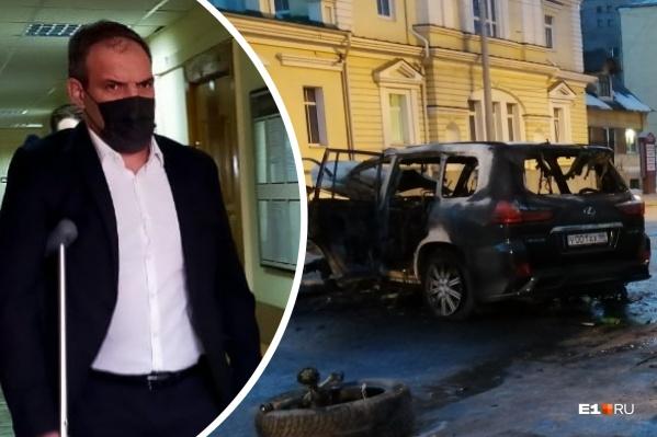 Александр Бачурин устроил аварию, в которой погибла его жена