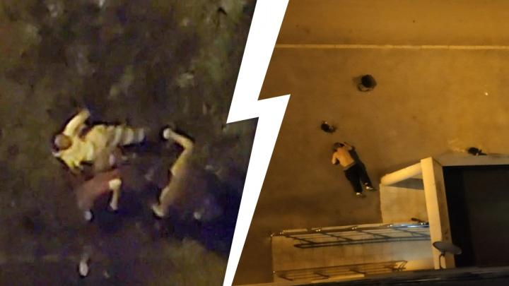 «Все были пьяные». В Екатеринбурге массовая драка попала на видео