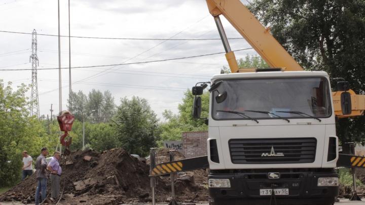 В Омске из-за ремонта без воды останутся 4 микрорайона