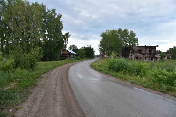 Девочки живут в деревне Кляпово