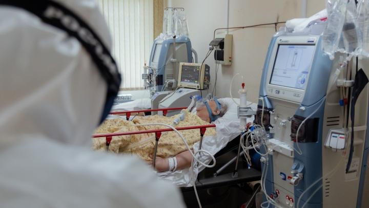 В Красноярском крае занято 86% коечного фонда, лекарств хватит на 3 месяца
