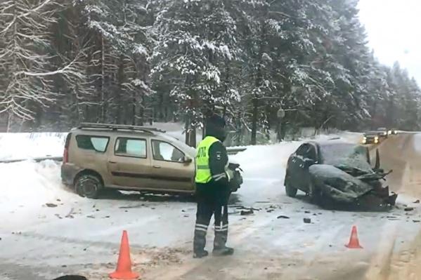 В аварии погиб человек
