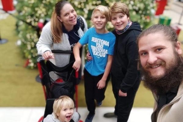 Сейчас в семье Саверченко уже четверо детей