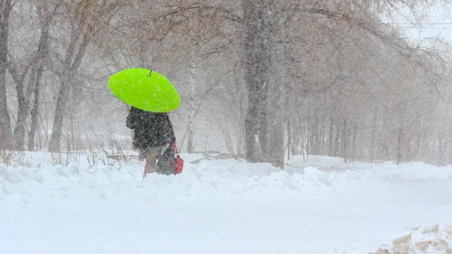В воскресенье синоптики прогнозируют в Самарской области снег с дождем