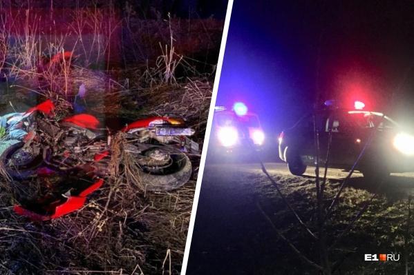 Мужчина скончался на месте аварии от полученных травм
