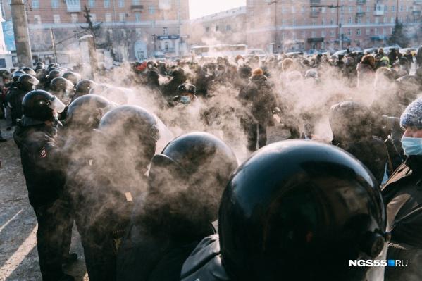 Морозная суббота в Омске выглядела сегодня так