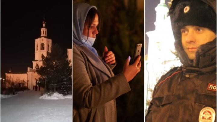 Праздничные торты, храмы и служба: что рассказывают в соцсетях тюменцы на Рождество